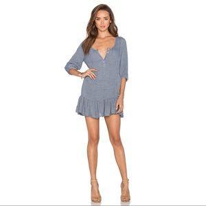 Anthropologie dRA Lyon Dress Slate Size S NWT
